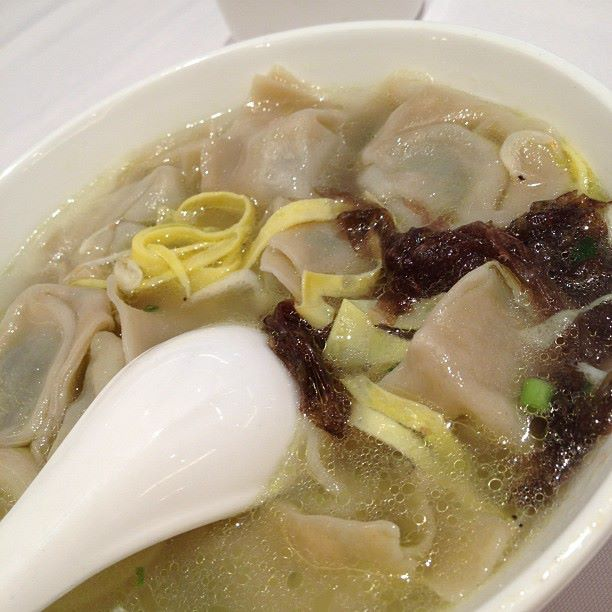 The only thing that wasn't very nice - dumpling soup