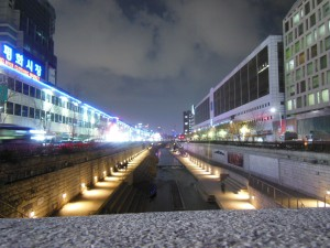 Lovely Dong Dae Mun at night